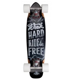 "D-STREET D-STREET CRUISER MAPLE RIDE FREE 23"" WOOD"