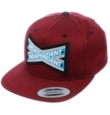 INDEPENDENT INDEPENDENT CAP INTERSECT BURGUNDY