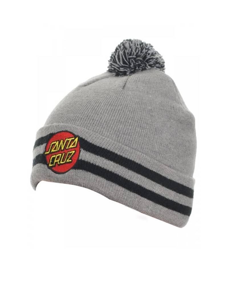 SANTA CRUZ SANTA CRUZ BEANIE CLASSIC DOT DARK HEATHER