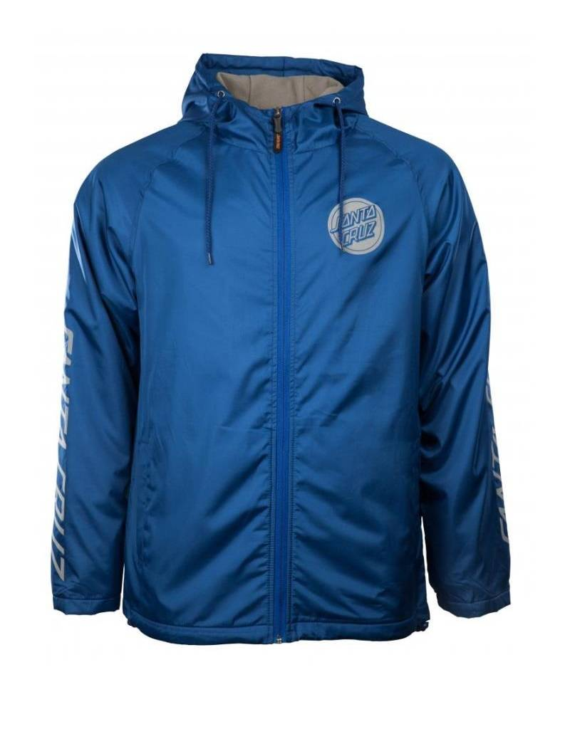 SANTA CRUZ SANTA CRUZ JACKET CARBON FEDERAL BLUE