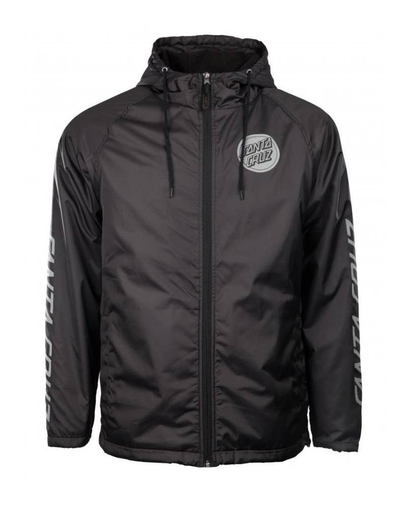 SANTA CRUZ SANTA CRUZ JACKET CARBON BLACK
