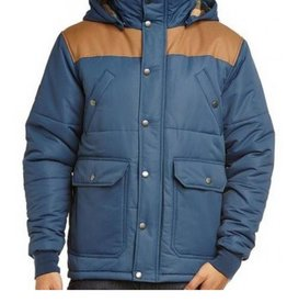 SANTA CRUZ SANTA CRUZ JACKET THREE MILE INDIGO