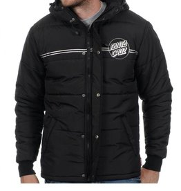 SANTA CRUZ SANTA CRUZ JACKET CLASSIC DOT BLACK