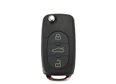 Audi - llave plegable modelo A