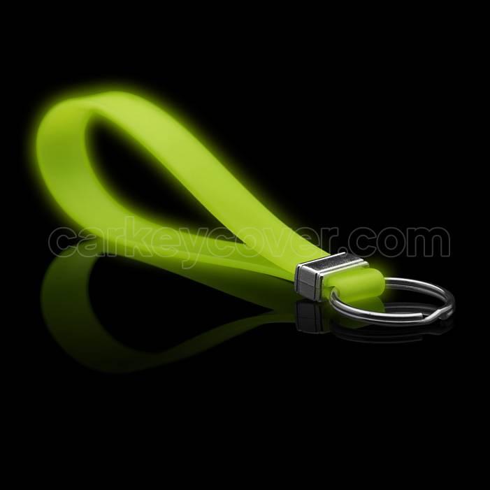Porte-clés en silicone - Glow in the Dark