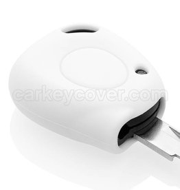Car key Cover for Renault - White