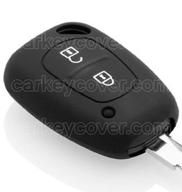 Car key Cover for Renault - Black