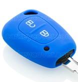 Renault Housse de protection clé - Bleu
