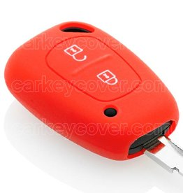 Car key Cover for Renault - Red