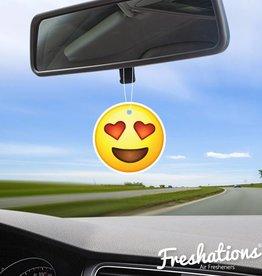 Air fresheners by Freshations | Emoticon - Heart Eyes | Summer