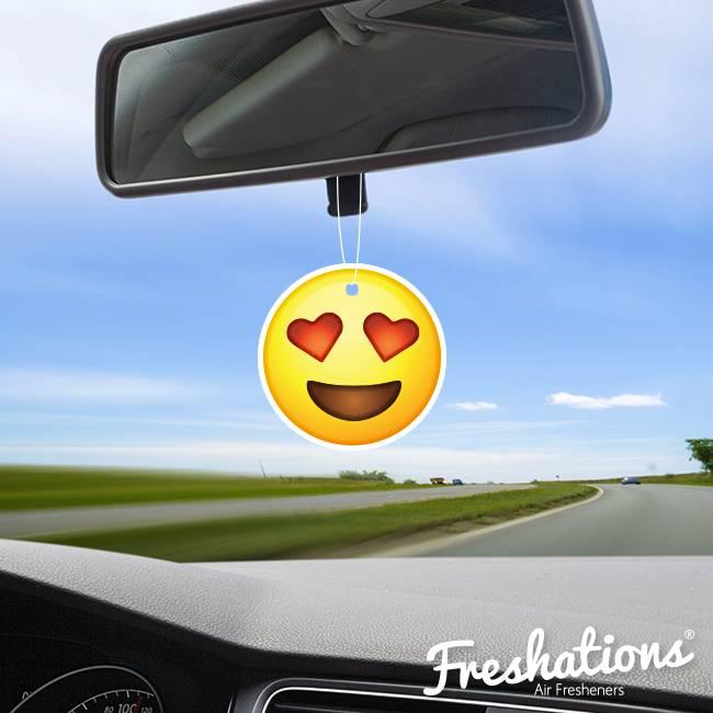 Assainisseurs d'air de Freshations | Émoticône - Heart Eyes | Summer