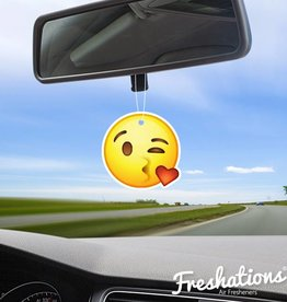 Air fresheners by Freshations | Emoticon - Kiss | Vanilla