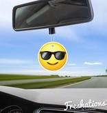 Lufterfrischer von Freshations | Emoticon - Sunglasses | New Car