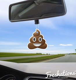 Lufterfrischer von Freshations | Emoticon - Poo | Coconut
