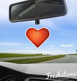 Air fresheners by Freshations | Emoticon - Heart | Lavendel