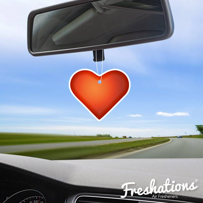 Assainisseurs d'air de Freshations | Émoticône - Heart | Lavendel