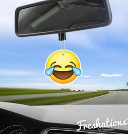 Lufterfrischer von Freshations | Emoticon - Laughing tears | Fruit Coctail