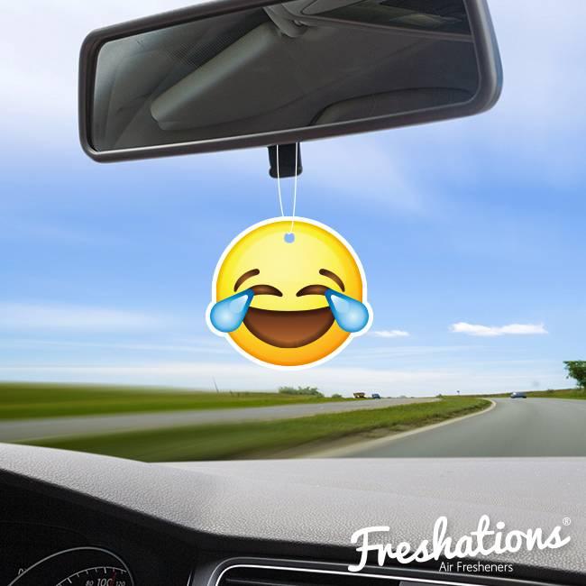 Lufterfrischer von Freshations | Emoticon - Laughing tears | Fruit Coctail