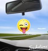 Assainisseurs d'air de Freshations | Émoticône - Funny tongue | Citrus