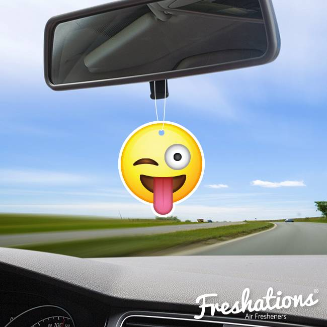 Deodoranti di Freshations | Emoticon - Funny tongue | Citrus