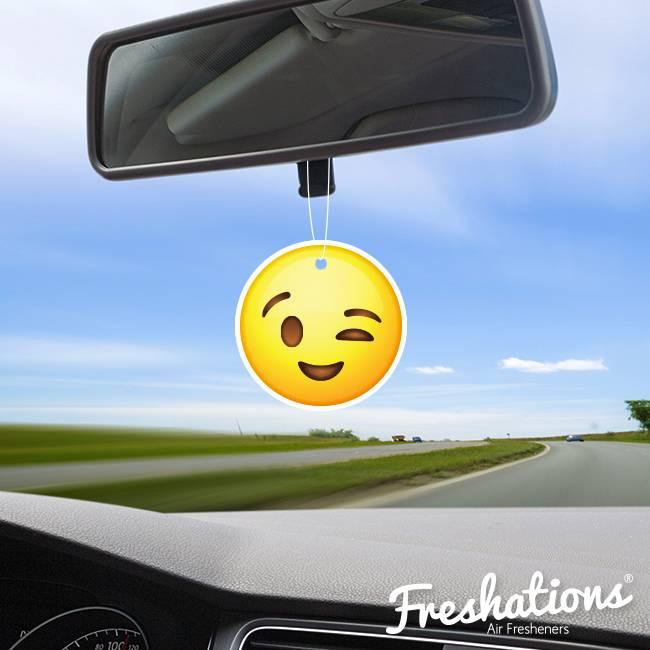 Lufterfrischer von Freshations   Emoticon - Wink   Rose