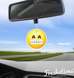 Air fresheners by Freshations | Emoticon - Teeth | Black Ice