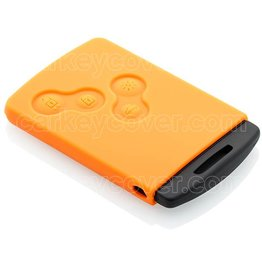 Car key Cover for Renault - Orange