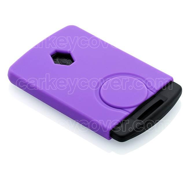 Renault Car key cover - Purple