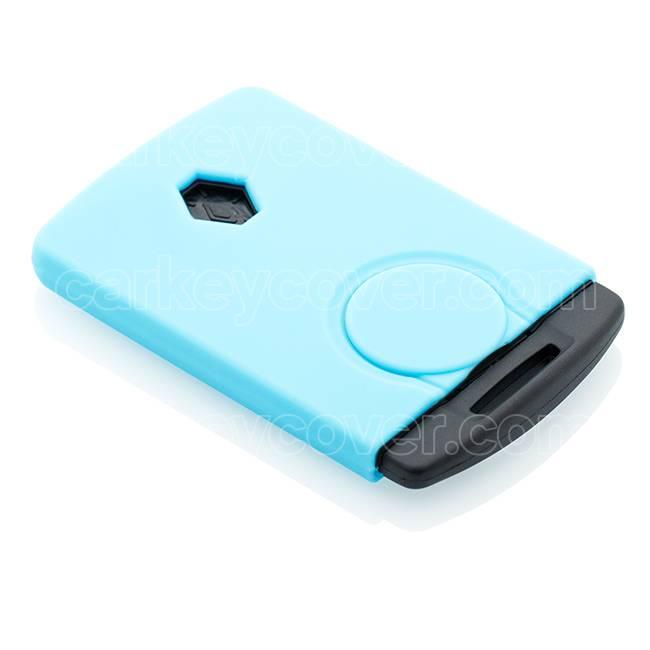 Renault Car key cover - Light blue