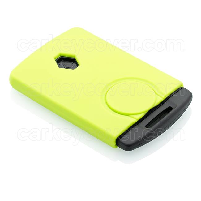 Car key Cover for Renault - Lime