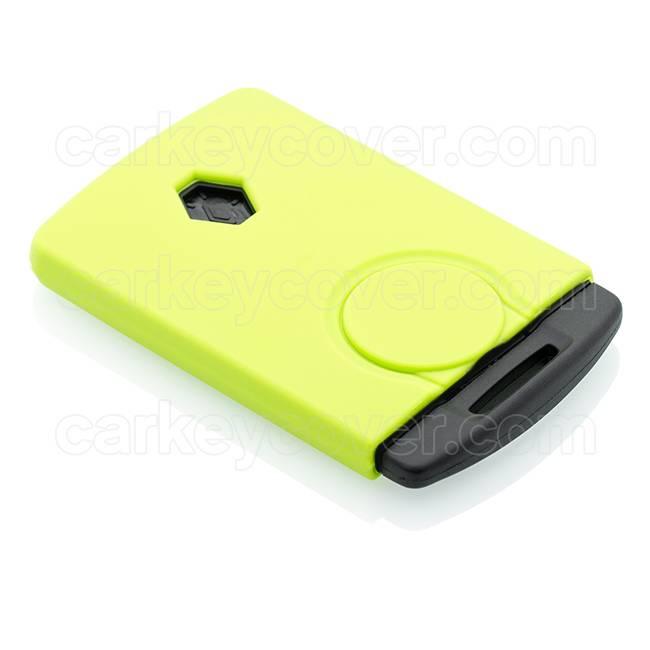 Renault Housse de protection clé - Citron vert