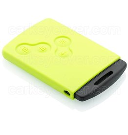 Renault Carkeycover - Lime