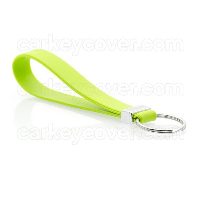 Portachiavi in silicone - Verde lima