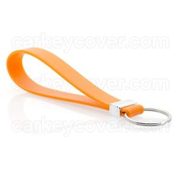 Keychain - Silicone - Orange