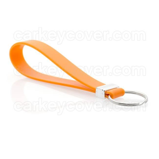 Portachiavi in silicone - Arancione
