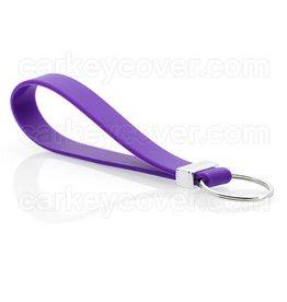 Keychain - Silicone - Purple