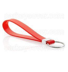 Porte-clés en silicone - Rouge