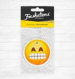 Assainisseurs d'air de Freshations | Émoticône - Teeth | Black Ice