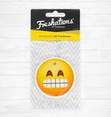 Lufterfrischer von Freshations | Emoticon - Teeth | Black Ice
