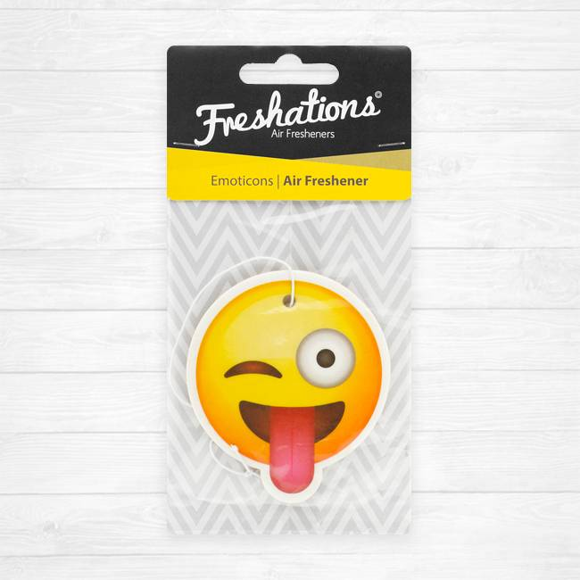 Air fresheners by Freshations | Emoticon - Funny tongue | Citrus