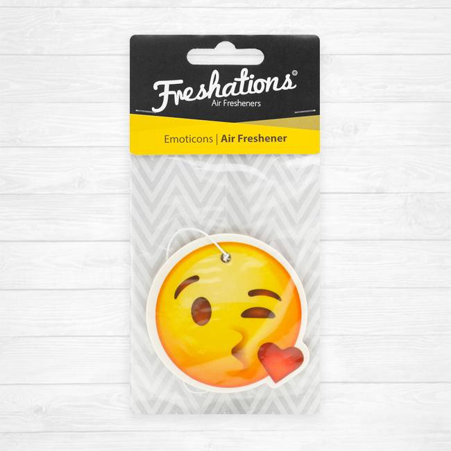 Lufterfrischer von Freshations | Emoticon - Kiss | Vanilla