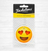 Lufterfrischer von Freshations | Emoticon - Heart Eyes | Summer