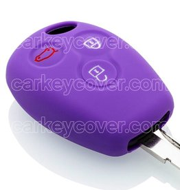 Car key Cover for Renault - Purple