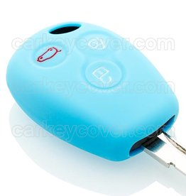Renault Car key cover - Light Blue