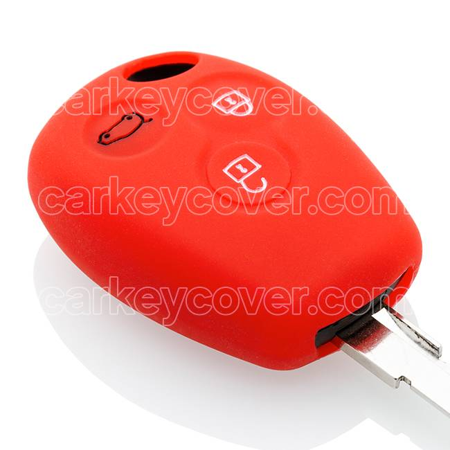Renault Schlüssel Hülle - Rott