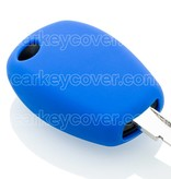 Car key Cover for Renault - Blue