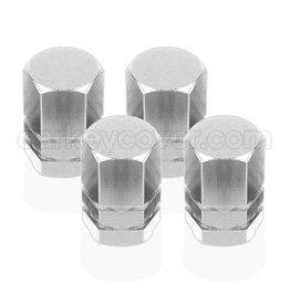 Tire valve caps - Silver (universal)