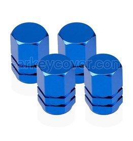 Reifen Ventilkappen - Blau (universal)