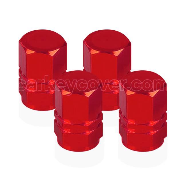 Casquillos de válvulas para neumáticos - Rojo (universal)