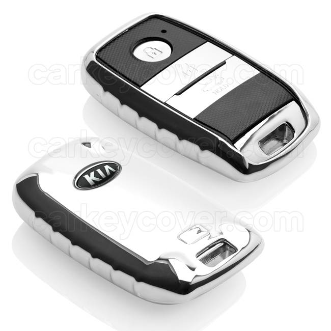 Kia Car key cover - Chrome (Special)